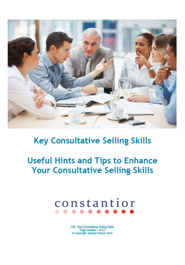 Key Consultative Selling Skills