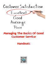 Cover image of Managing The Basics Of Good Customer Service