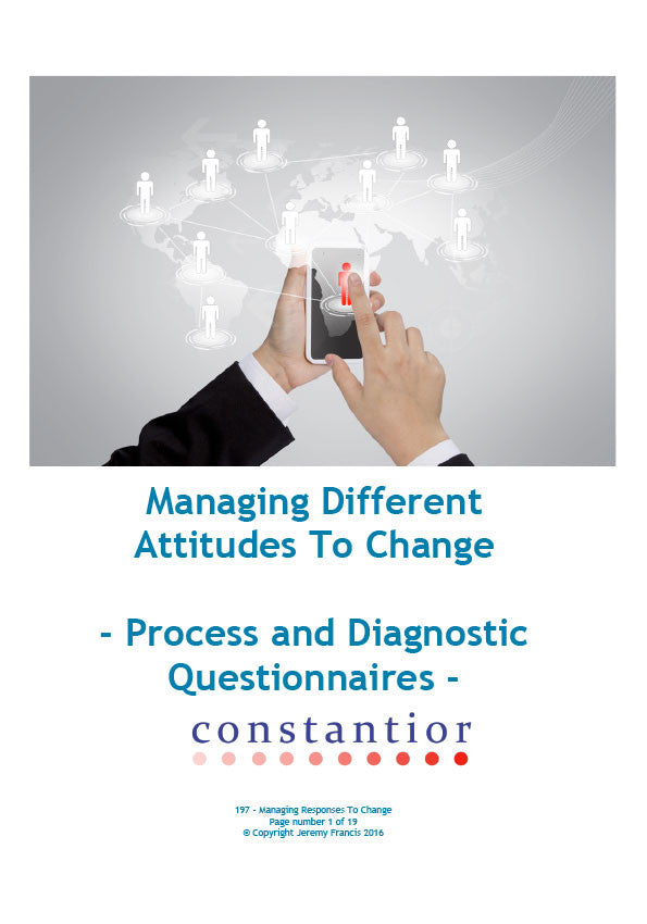 Managing Different Attitudes To Change