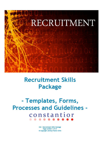 Recruitment Skills Package