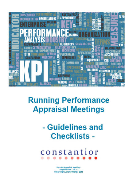 Running Appraisal Meetings