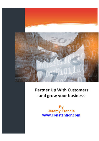 partner up with customers