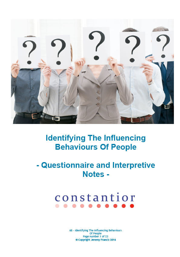 Identifying The Influencing Behaviours Of People