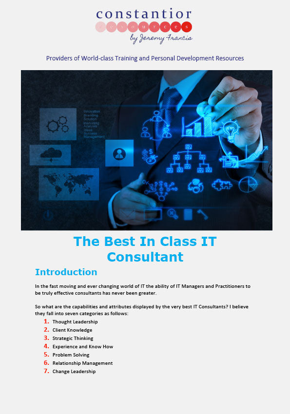 best in class IT consultant