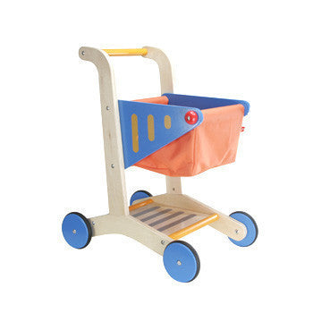 Toy Shopping Trolley Wooden