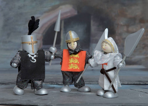Knight figures - Castle Budkins