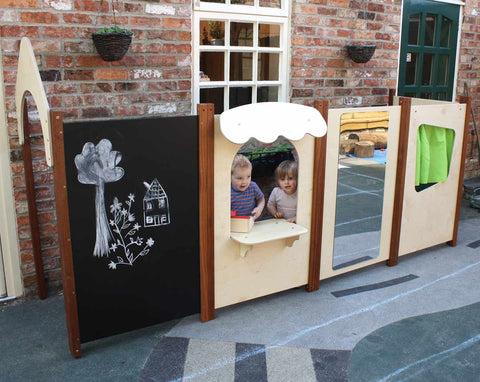 Outdoor Playhouse - 6 Panel Set