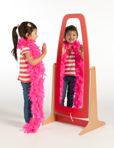 Dressing Up Mirror - Red & Blue