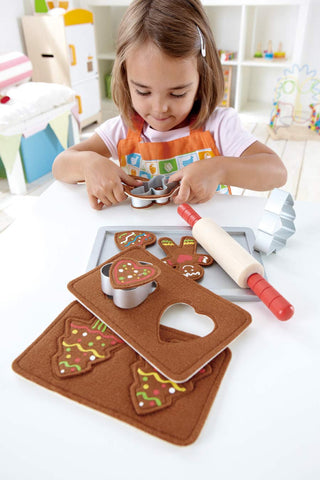 Toy Baking Set - with Felt cutout