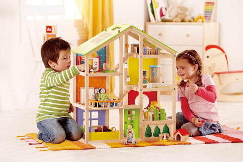Toy Doll's House All Season House - FURNITURE INC.