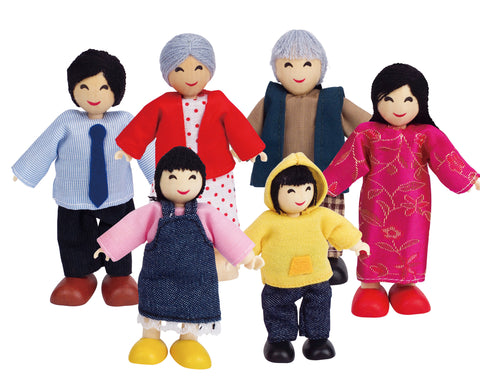 Multi-Cultural Dolls - Dolls House Size