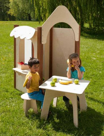 Outdoor Play House set of 4