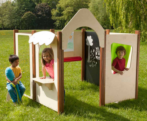 Outdoor Playhouse - 8 Panel Set