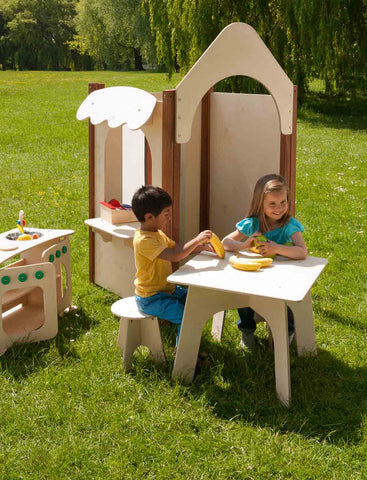 Outdoor Children's Table & Stools