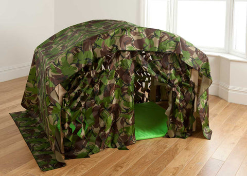 Indoor/Outdoor Folding Camouflage Den Kit