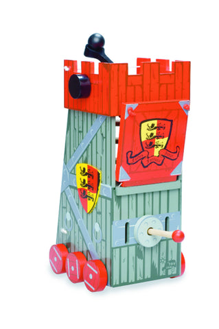 Siege Tower - Toy Castle Accessory