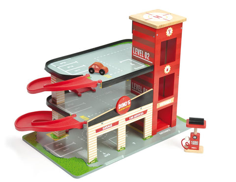 Toy Garage Red