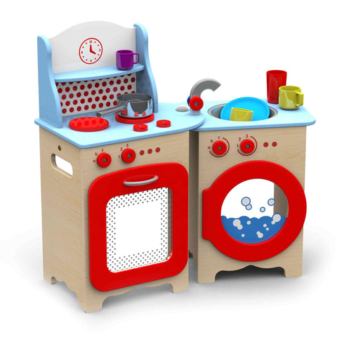 Fold Away Children's Kitchen - Playgroup