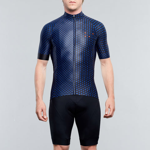 Pedalling Squares Jersey