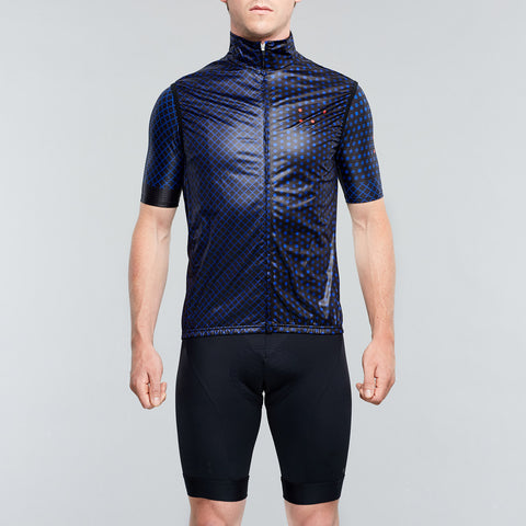 Pedalling Squares Gilet