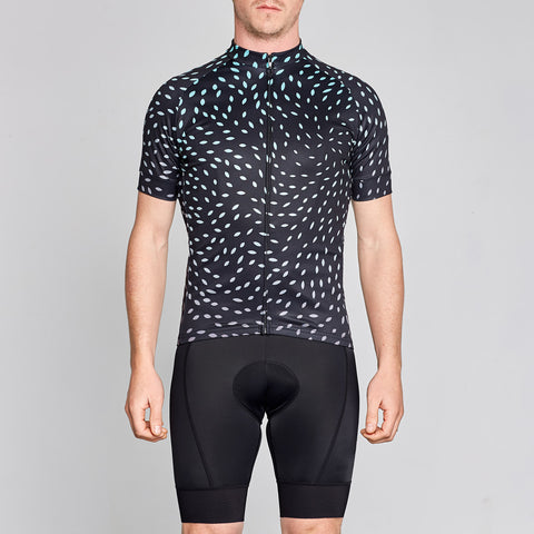 Men's twin six cycling jersey on OMNIUM