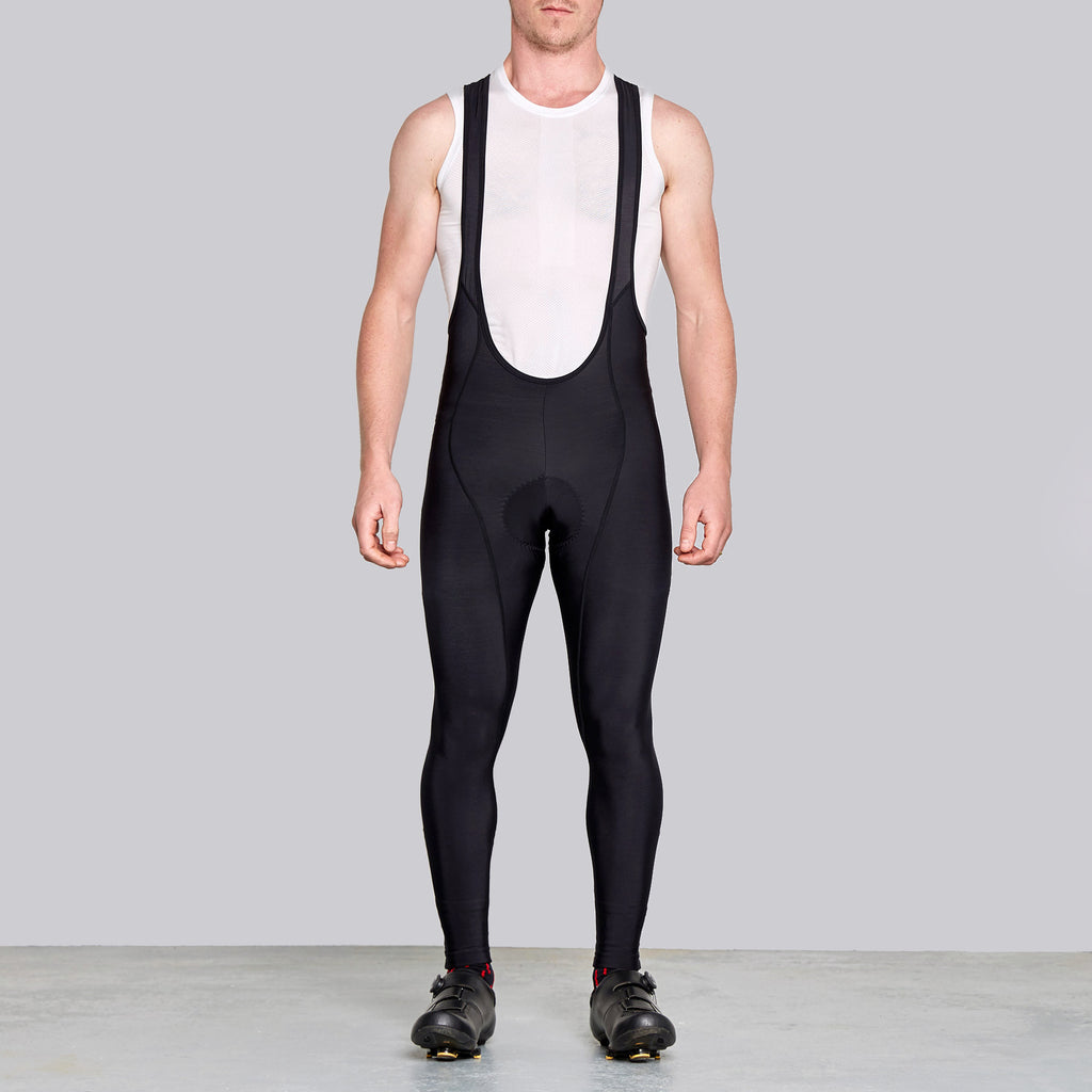 men's thermal winter cycling tights by twin six