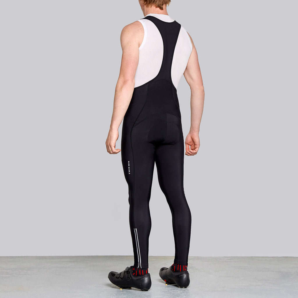 men's thermal winter long cycling tights by twin six