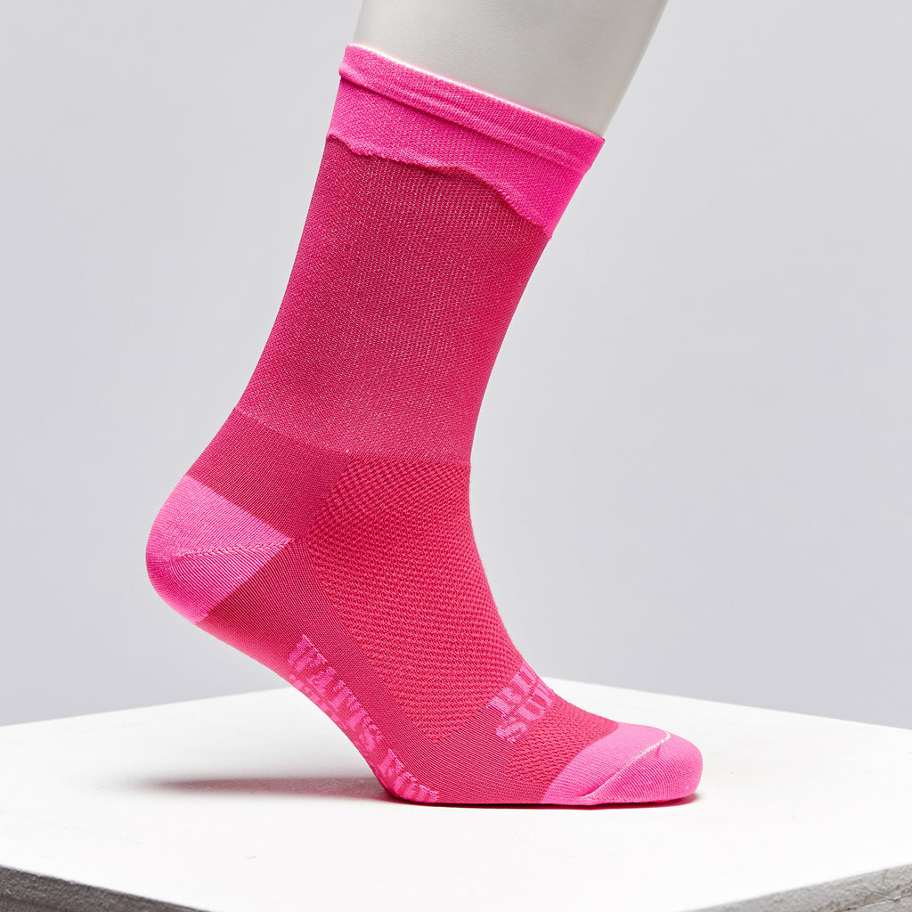 pink cycling socks