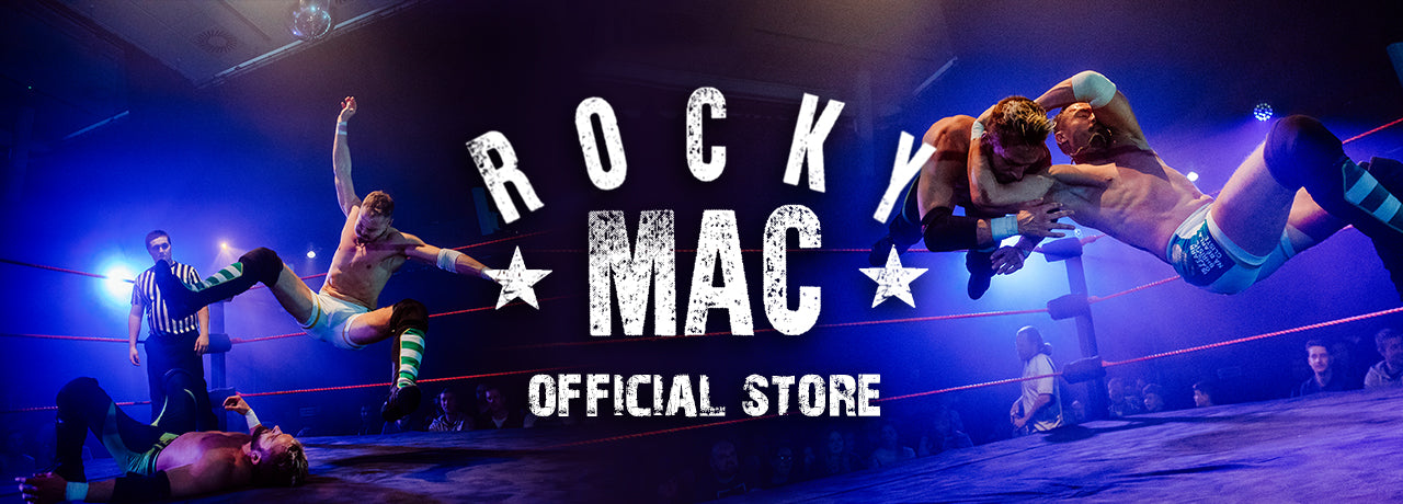 Rocky Mac Wrestler t-shirts