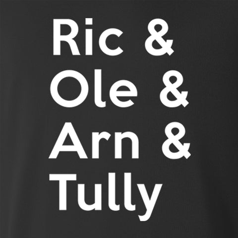 Ric & Ole & Arn & Tully Hoodie - Parts Unknown Clothing - Parts Unknown t-shirts - Wrestling T-Shirt - 1