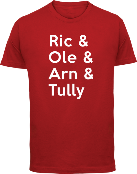 Ric & Ole & Arn & Tully T-Shirt - Parts Unknown Clothing - Parts Unknown t-shirts - Wrestling T-Shirt - 2