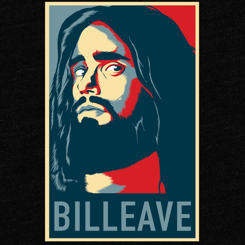 Billeave T-Shirt - Pastor William Eaver - Parts Unknown t-shirts - Wrestling T-Shirt - 1