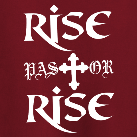 Rise Pastor Rise T-Shirt - Pastor William Eaver - Parts Unknown t-shirts - Wrestling T-Shirt - 1