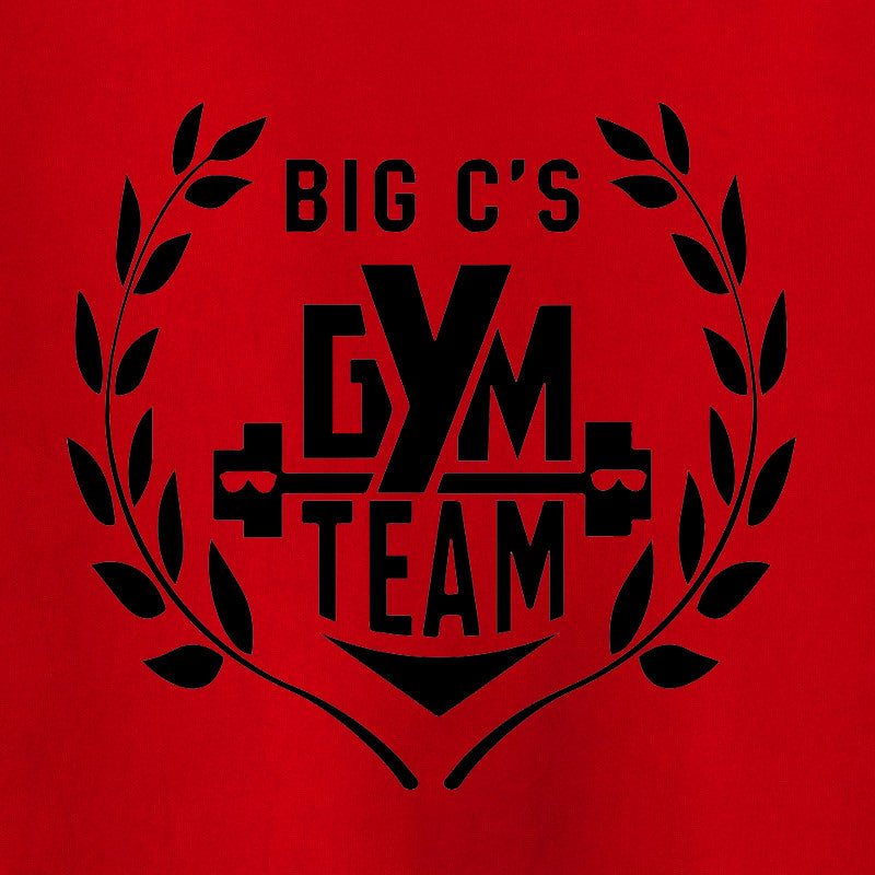 Big C's Gym Team T-Shirt - Chuck Cyrus - Parts Unknown t-shirts - Wrestling T-Shirt - 1