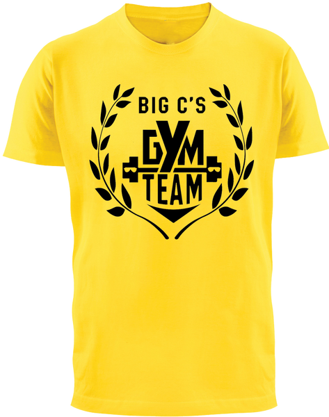 Big C's Gym Team T-Shirt - Chuck Cyrus - Parts Unknown t-shirts - Wrestling T-Shirt - 2
