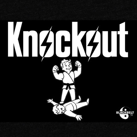 Knockout T-Shirt - Tom Dawkins - Parts Unknown t-shirts - Wrestling T-Shirt - 1