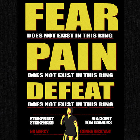 No Fear Kai T-Shirt - Tom Dawkins - Parts Unknown t-shirts - Wrestling T-Shirt - 1