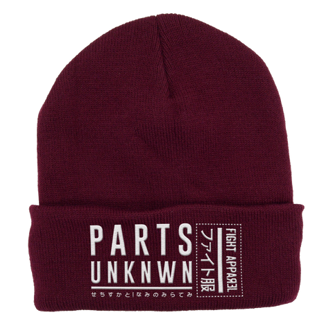 Parts Unknown Clothing-Pro wrestling Beanie-Parts Unknown Clothing