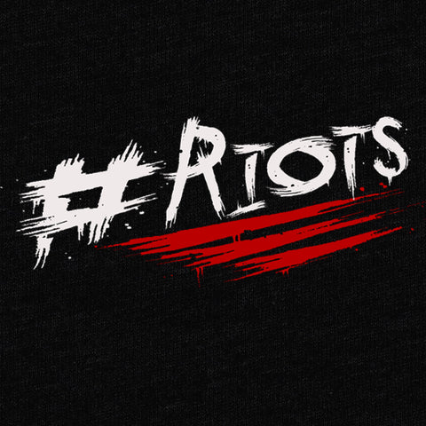 #RIOTS T-Shirt - London Riots - Parts Unknown t-shirts - Wrestling T-Shirt - 1