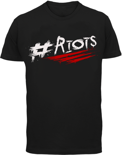 #RIOTS T-Shirt - London Riots - Parts Unknown t-shirts - Wrestling T-Shirt - 2