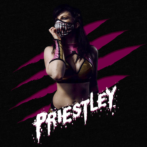 Bea Priestley-Pro wrestling T-Shirt-Parts Unknown Clothing