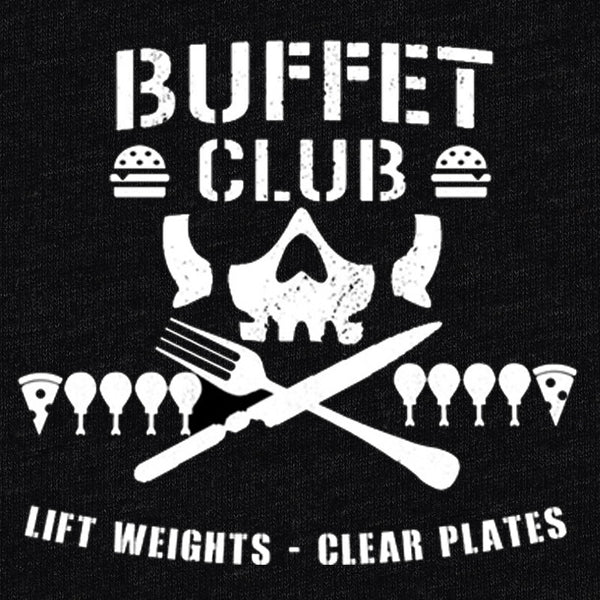 Buffet Club Original T-Shirt - Buffet Club - Parts Unknown t-shirts - Wrestling T-Shirt - 1