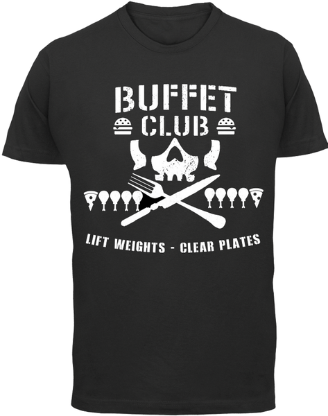 Buffet Club Original T-Shirt - Buffet Club - Parts Unknown t-shirts - Wrestling T-Shirt - 2