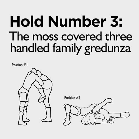 The Moss Covered Three Handled Family Gredunza Hoodie - Parts Unknown Clothing - Parts Unknown t-shirts - Wrestling Hoodie - 1