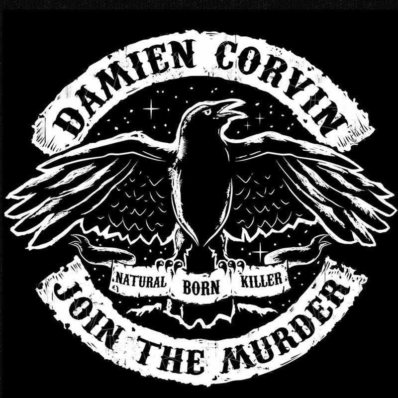 Join The Murder T-Shirt - Damien Corvin - Parts Unknown t-shirts - Wrestling T-Shirt - 1