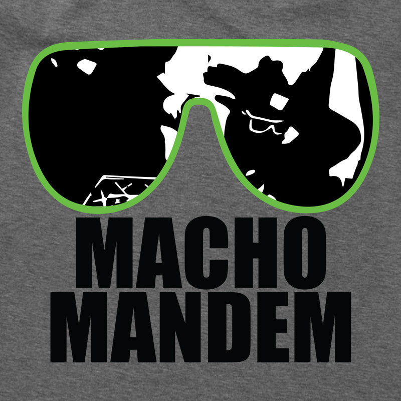 Macho Mandem T-Shirt - Roy Johnson - Parts Unknown t-shirts - Wrestling T-Shirt - 1