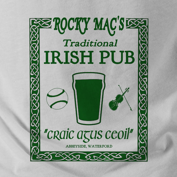 Traditional Irish Pub - Double Sided Ringer T-Shirt