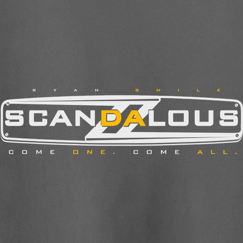 Scandalous T-Shirt - Ryan Smile - Parts Unknown t-shirts - Wrestling T-Shirt - 1