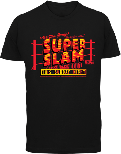 Super Slam T-Shirt - Parts Unknown Clothing - Parts Unknown t-shirts - Wrestling T-Shirt - 2