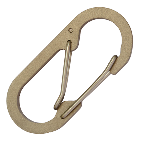 Binary Titanium Carabiner Medium